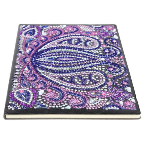 DIY Mandala Special Shaped Diamond Painting 50 Pages A5 Sketchbook Notebook Gift