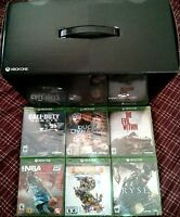 Xbox One Day 1 Edition System Console & Kinect Super Bundle + 35 Games Brand