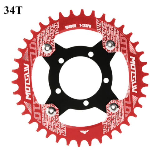 1x Electric Bicycle 104BCD Chainring Adapter For Bafang Mid Drive Motor Parts