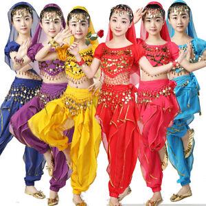 a08d382aa Oriental Dance Girls Belly Dancing Costume Indian Dancewear Set ...