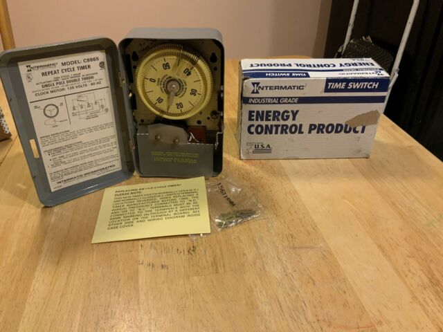 Intermatic C8865 Repeat Cycle Timer SPDT, 20 Amp, New