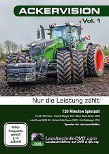 Ackervision Vol. 1 – Nur die Leistung zählt Traktor Fendt 1050 Landtechnik DVD