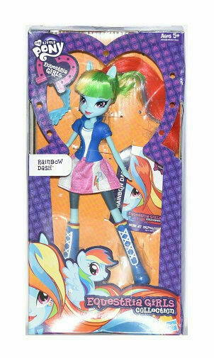 My Little Pony Equestria Girls Collection Rainbow Dash Doll A9258000 For Sale Online Ebay