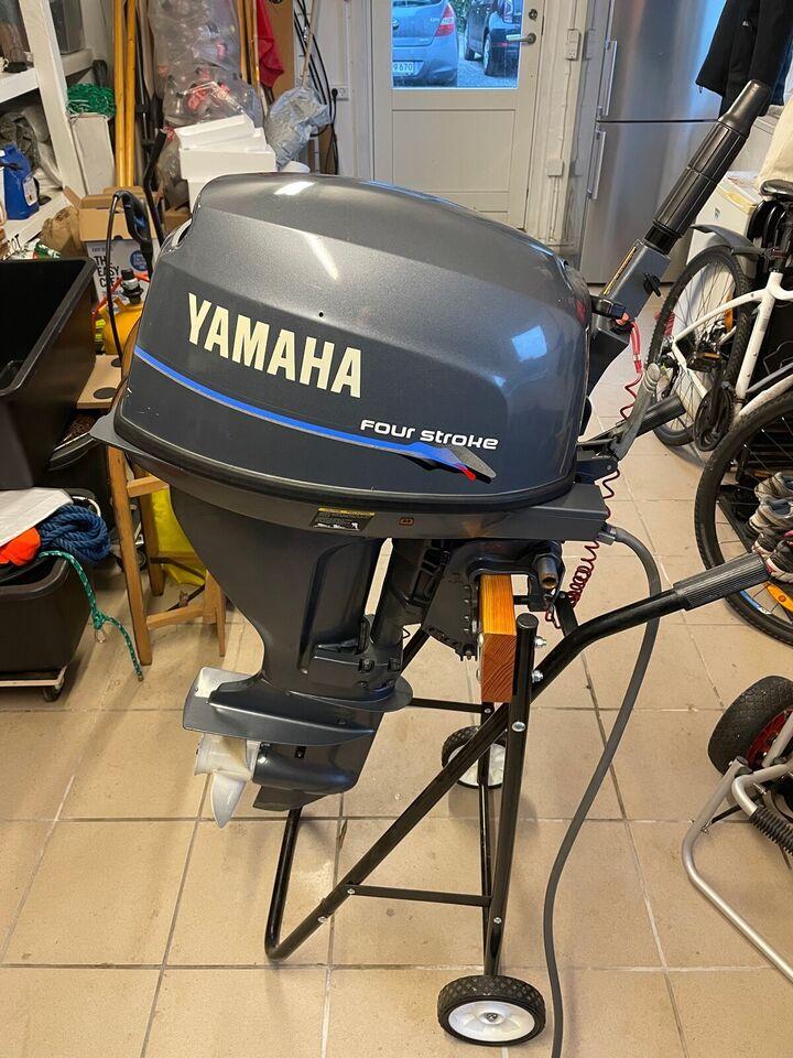 Yamaha påhængsmotor, 10 hk, benzin