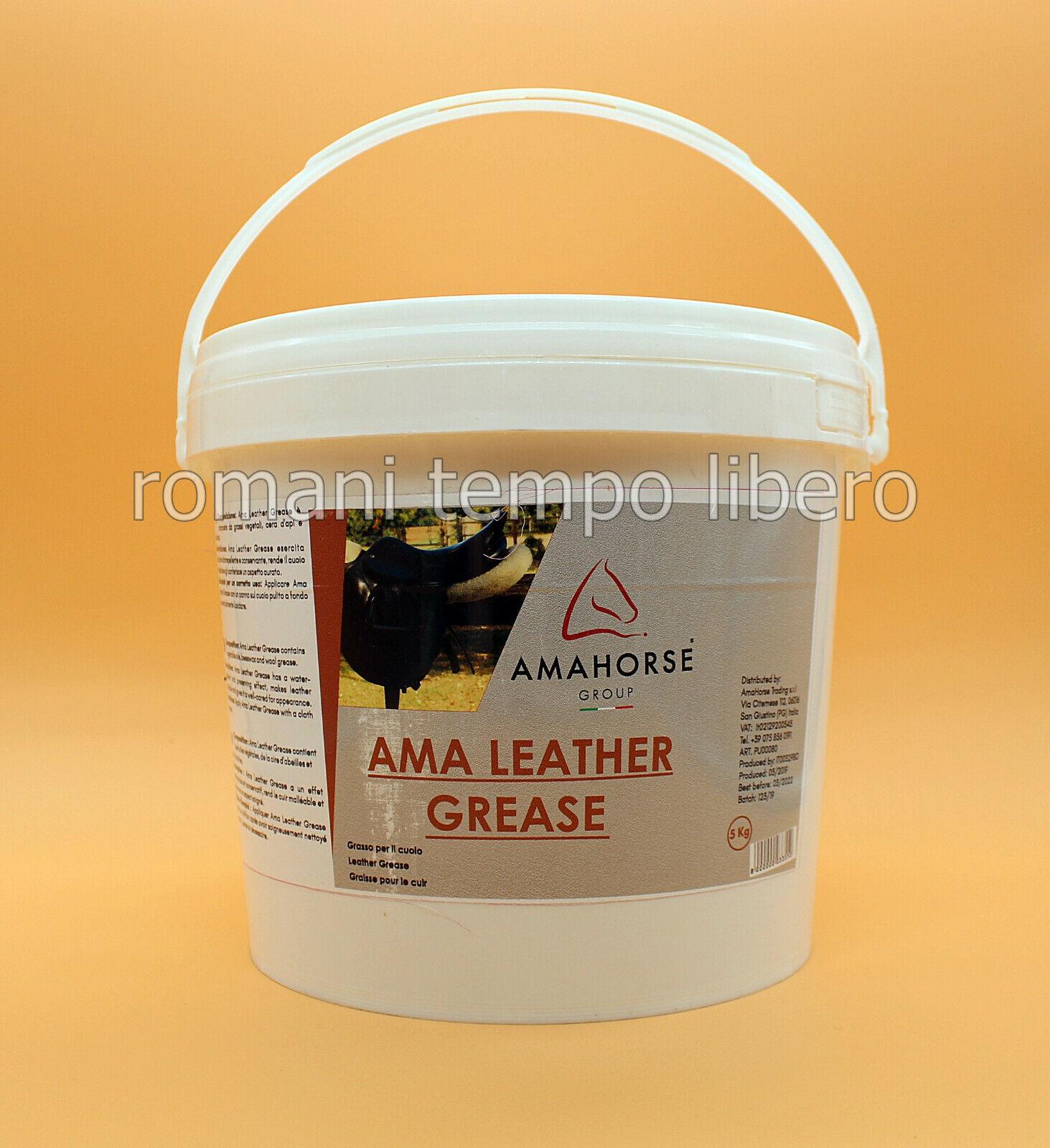 Graisse pour Cuir Amahorse Leather Graisse 5 KG
