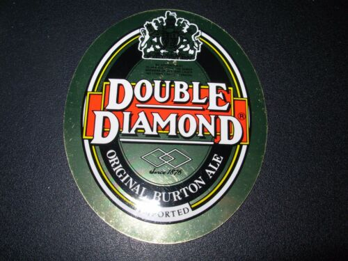 DOUBLE DIAMOND Carlsberg Tetley UK Foil Sticker craft beer brewery brewing