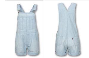 Neuve Levi's Salopette 100 Femme S Short Taille Originale Levis gBaqIz