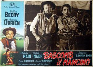 BAD-BASCOMB-WALLACE-BEERY-1946-OPTIONAL-SET-FOTOBUSTA
