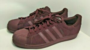 Men's Adidas Originals Superstar Burgundy sz. 12