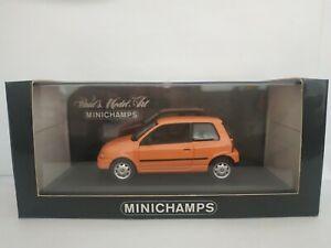 1-43-SEAT-AROSA-VW-LUPO-MINICHAMPS-COCHE-METAL-A-ESCALA-SCALE-DIECAST