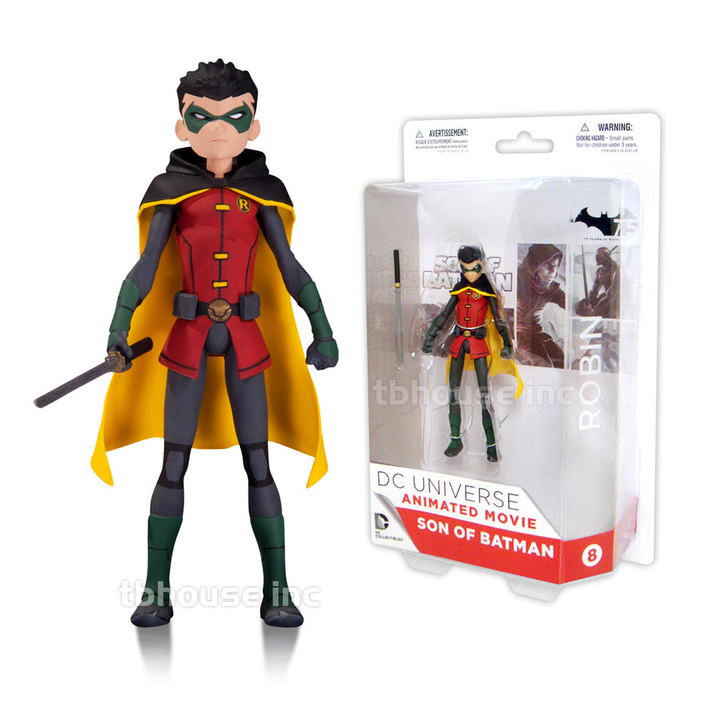 ROBIN figure DAMIAN WAYNE  SON OF BATMAN animated movie DC COLLECTIBLES universe