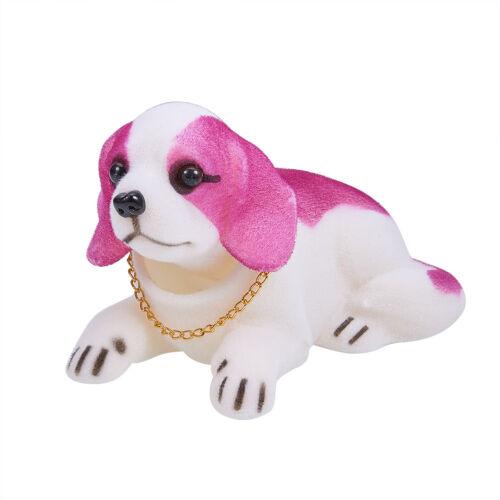 Shaking Head Nodding Beagle Shepherd Labrador Dog Lucky Puppy Ornament For Car