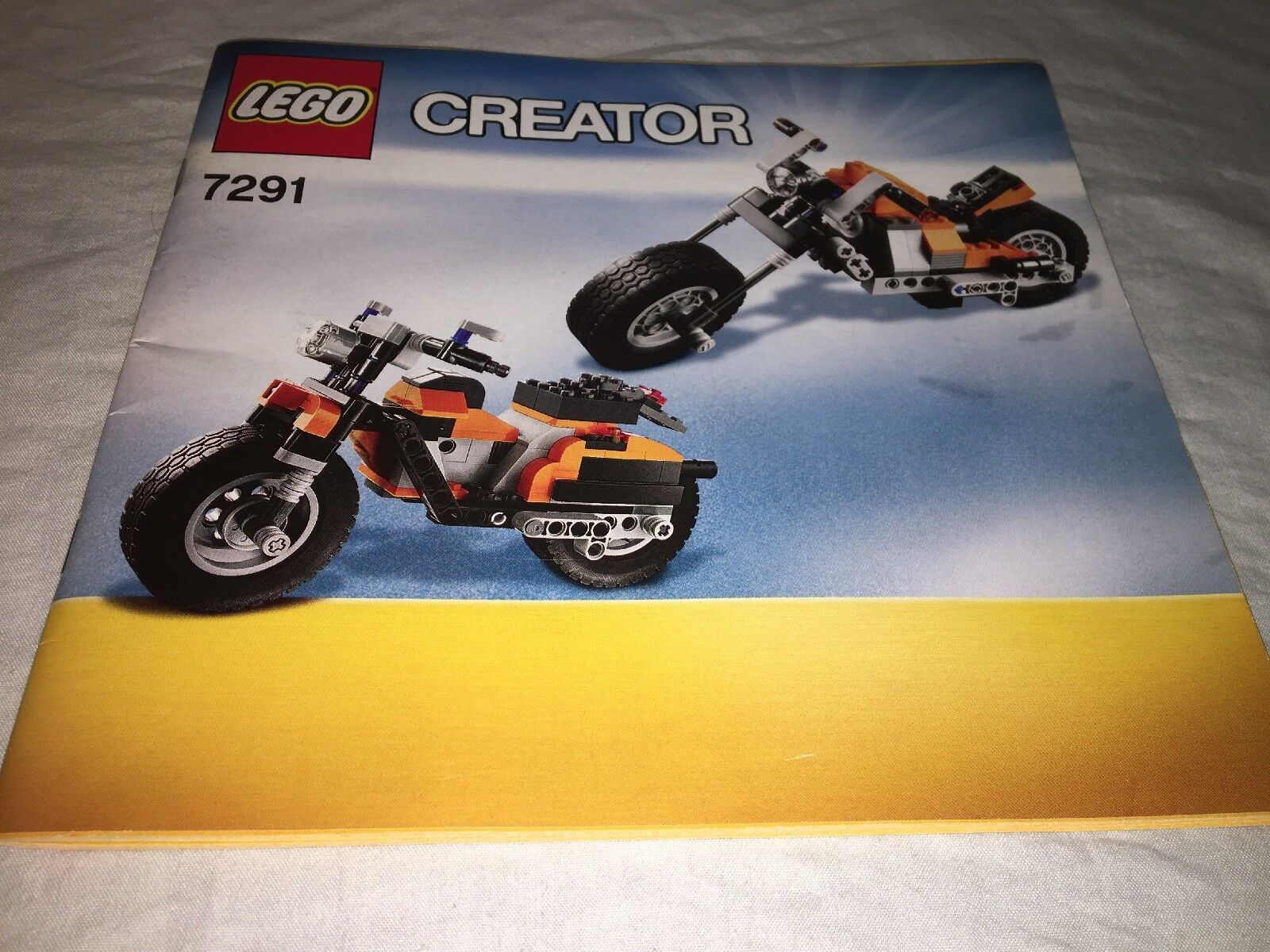 LEGO Rebel 7291 Creator Street Rebel LEGO 3-in-1 Complete with Both Instruction Books 401868