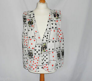 Funny Novelty Waistcoat Elvis Presley Fun Fancy Dress Gift Idea Party Festival