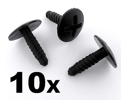 10x VW Volkswagen T5 Transporter LT Headlight Engine Battery Grille Cover Screws