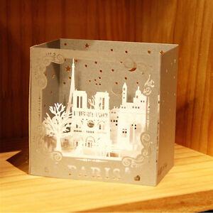 3D-Pop-Up-Sculpture-Greeting-Cards-Christmas-Birthday-Valentine-Invitation