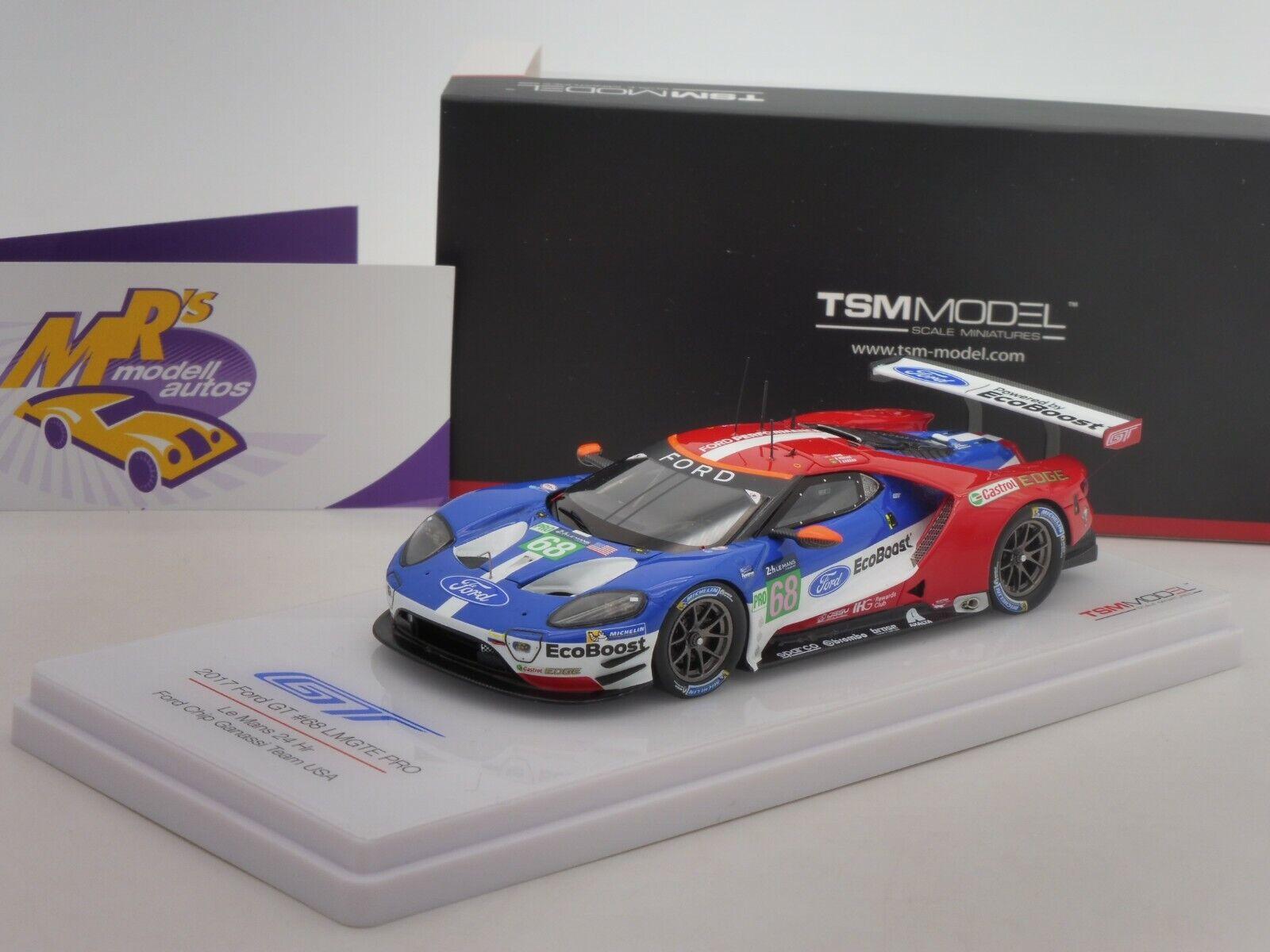TSM 430288   FORD GT LMGTE Pro 24h. Le Mans 2017 No. 68   D. Müller   1 43 NEU