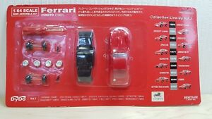 1-64-Kyosho-Dydo-1962-FERRARI-250GTO-250-GTO-RED-diecast-car-model-kit-NEW