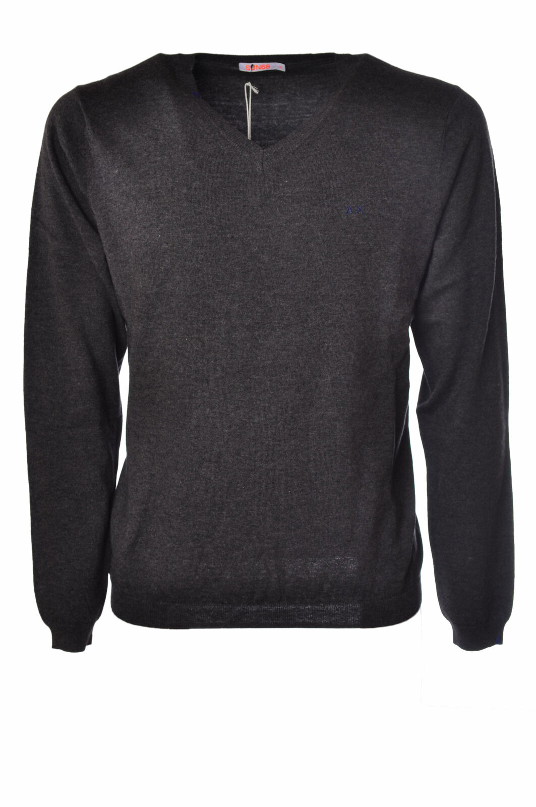 Sun 68  -  Sweaters - Male - Grau - 2511226N173833