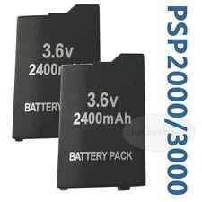 2pk Battery for PSP SLIM & LITE PSP 2000 for PSP 2004 for PSP 3000 for PSP 3004