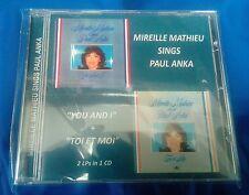 MIREILLE MATHIEU sings PAUL ANKA - YOU AND I / TOI ET MOI Audio CD