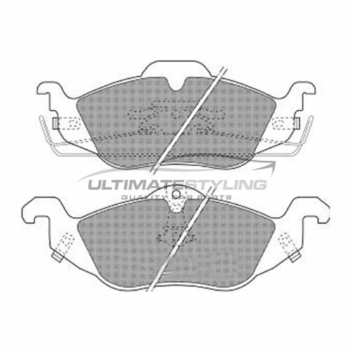 Vauxhall Astra G Mk4 Estate 1998-2005 Front Brake Pads Kit W160-H63-T17