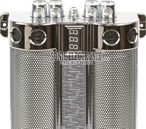 Boss Audio CAP18 Digital Hybrid 18 Farad Car Capacitor//Cap w// Blue Illumination