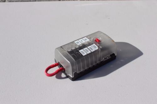 RIPCA 12 Way//Circuits Blade Fuse panel box block with negative bus /& Cover