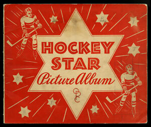 1933-34-OPC-O-PEE-CHEE-HOCKEY-SERIES-A-amp-B-COMPLETE-ORIGINAL-CARD-ALBUM