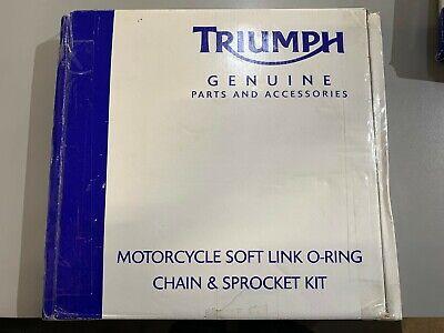 1997-1998 Triumph Daytona T595 O-Ring Chain and Sprocket Kit Black