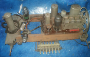 original-Telefunken-Gross-Super-750WK-Roehrenradio-Chassis-AEG-Siemens