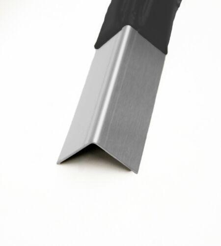 Aluwinkel gekantet Kantenschutz Eckschutz Aluminium Winkel Alu