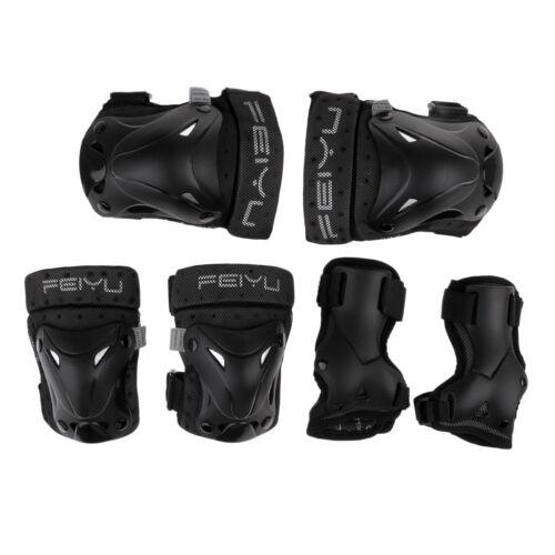 Roller Skating Skateboard Elbow Knee Pads Wrist Protective Adjustable Guard