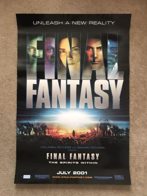 Final Fantasy Spirits Within Animated Original D S 2001 Movie