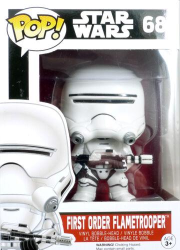 Pop Star Wars EP7 68 de premier ordre flametrooper Figure Funko 6224