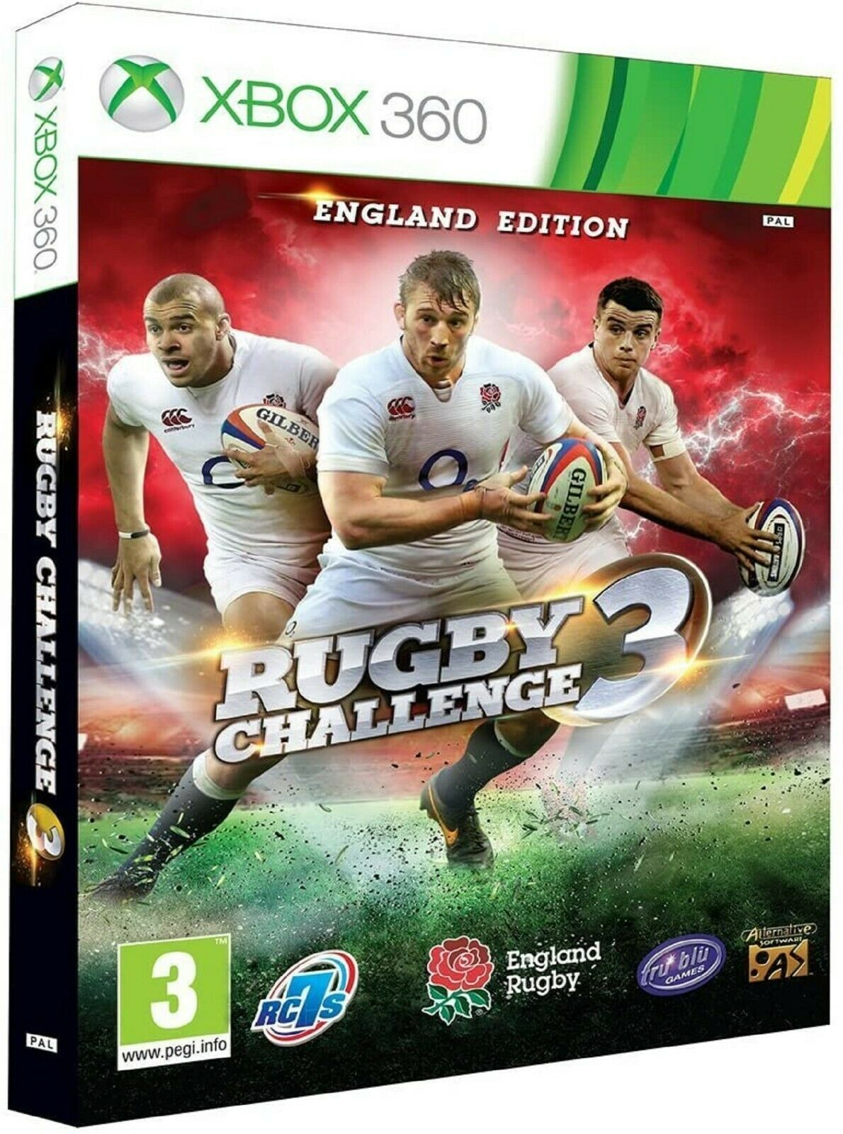 Rugby Challenge 3 Xbox 360 Ms Xbox360 Sports Video Game Uk Release For Sale Online Ebay