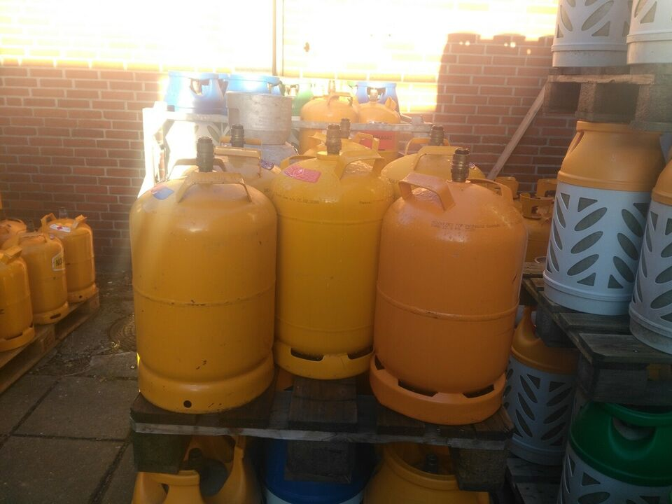 11 Kg. Jerngasflaske