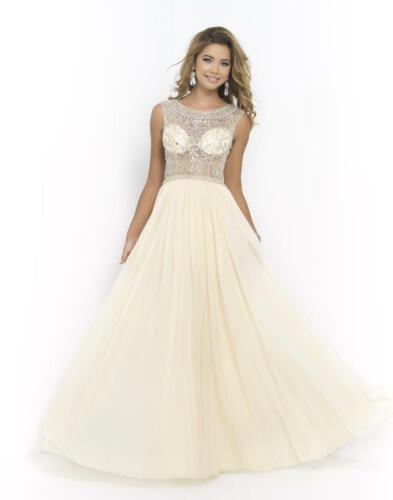 85% off Prom Long Dress Blush 9911 Color: Sand Siz