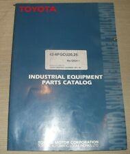 Toyota 42 6fgcu20 42 6fgcu25 Forklift Parts Manual Book Catalog G824 1