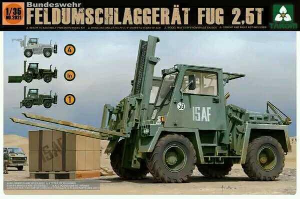 ◆ Takom 2021 1 35 Bundeswehr Feldumschlaggerat FUG 2.5t