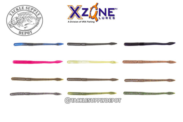 X Zone Lures Pro Series Ned Zone Worm 3in 8pk Pick
