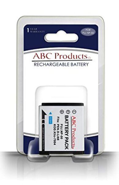100% De Qualité Batterie Np-50 Np50 Np-50a 650mah Pour Fuji Finepix F60 F200 X10
