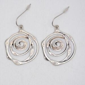 jewelmint jewelry vintage silver plated earrings fishhook