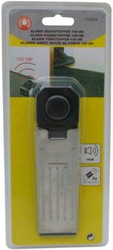 3x Türstopper mit Alarm Tür-Stopper Türalarm Alarmanlage für Türen Türkeil 100db