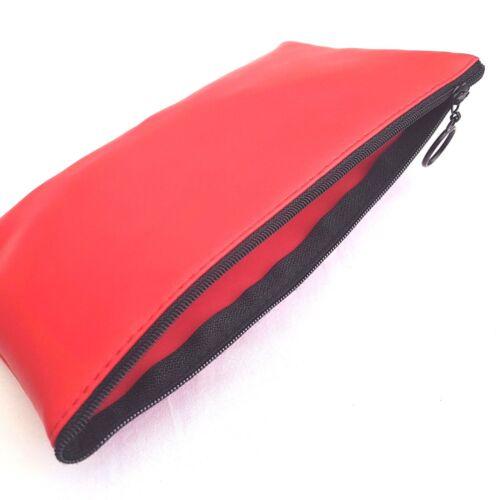 11x22cm Pencil Case Storage Zipped Pouch Organiser School Office College Make Up