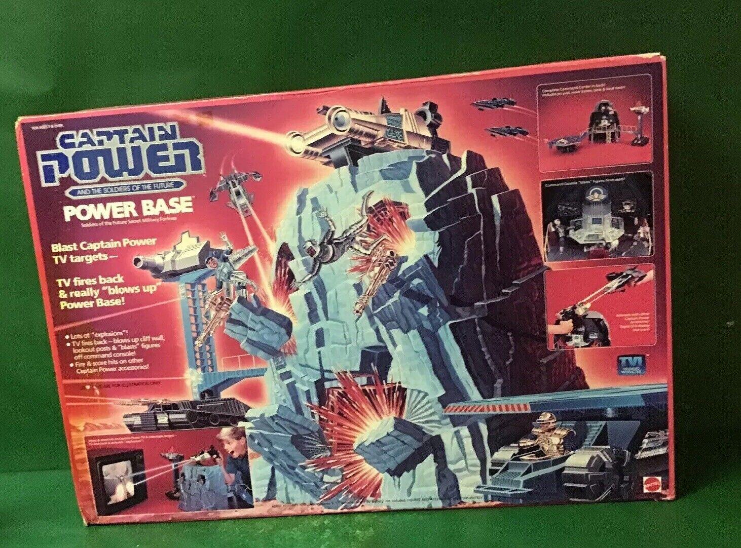 Capitaine De Pouvoir Base Box Par Mattel New Power In 1987 trdChQs