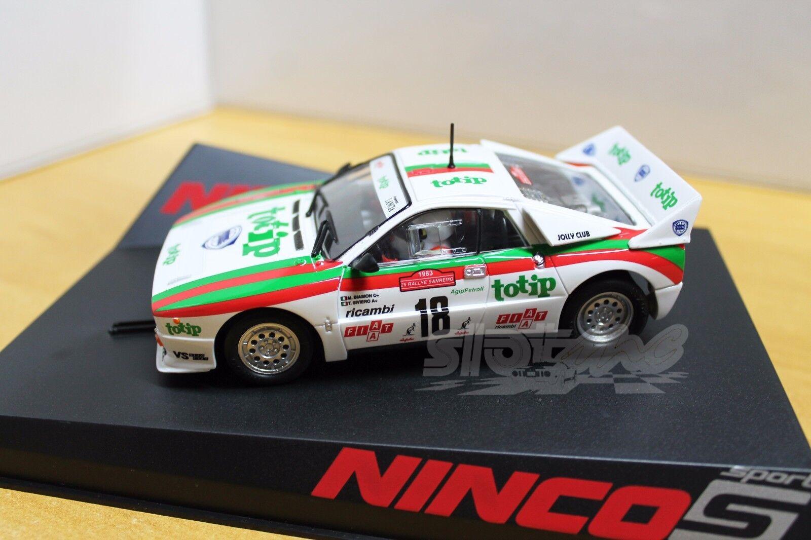 Ninco 50637 Lancia 037 Totip 1 32  NEW