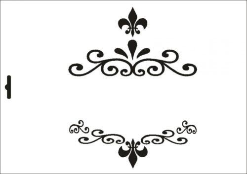 Mur textile gabarit w-454 d/'ornement ~ a5 a4 a3 ~ umr-DESIGN