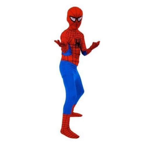 Avengers Infinity War Kids//Adults Iron Spiderman Cosplay Costume Fancy Dress UK
