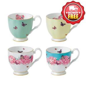 Royal Albert Miranda Kerr Vintage Mugs Set of 4